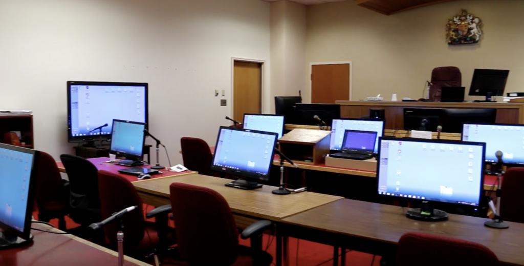 E-Trial Courtroom